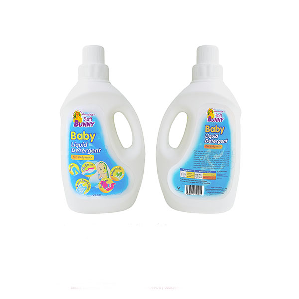 SOFT BUNNY Double Concentrated BABY Liquid Detergent 2L