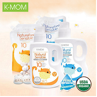 K-Mom Baby Fabric Softener 1700ml - Orange