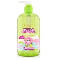 Sữa tắm gội thiên nhiên hoa Anh Đào Purity baby 500ml