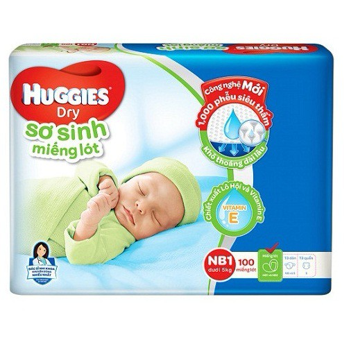 New Huggies diapers 1 100 pieces