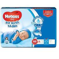 Tã dán Huggies Newborn XS36