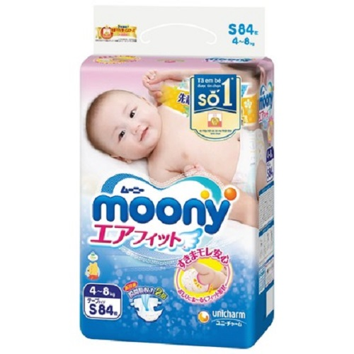 Moony Tape Diaper S84