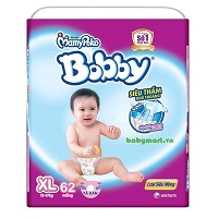 Bobby Fresh Tape Ultra-Thin Diaper XL62