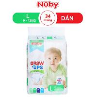 Tã dán Nuby L34, 9-13kg