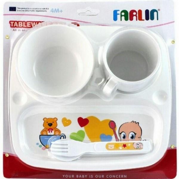 Bộ khay cốc bát Farlin