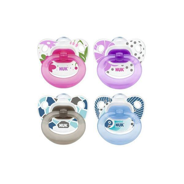 NUK Classic Silicone Soother 2-pack