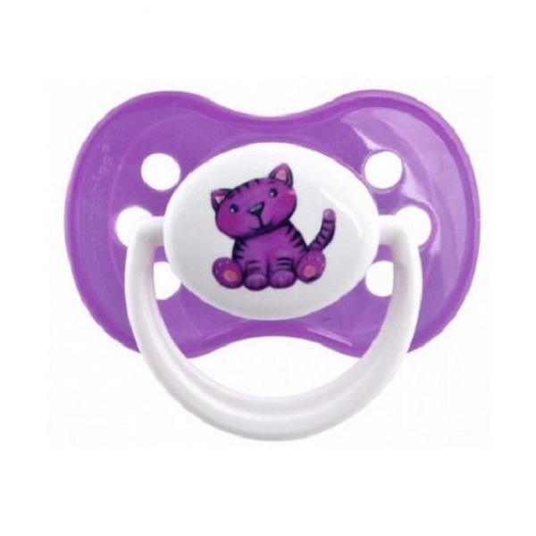 Ty ngậm Canpol Babies silicone từ 0 - 6 tháng