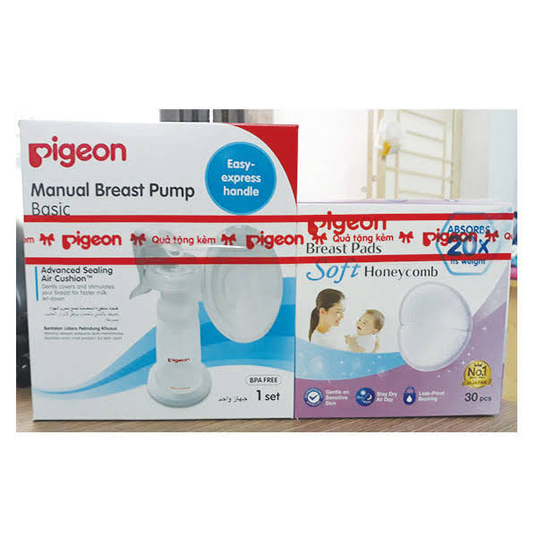 Pigeon breast pump manual
