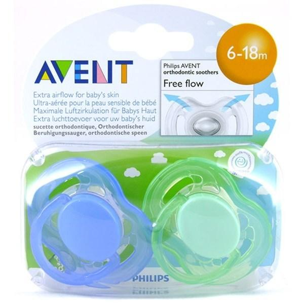 Avent Soother, 2 pack (6–18 M)