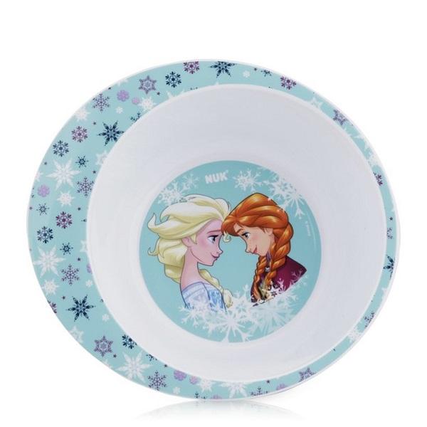 Bát đựng thức ăn bằng nhựa Nuk hình công chúa Frozen