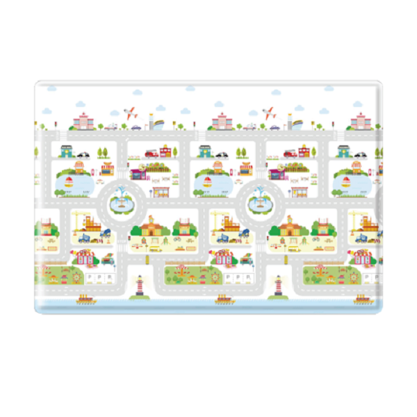 Playmat one-sided anti-slip Pamama Small City