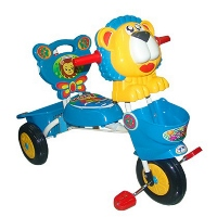3-wheel car lion