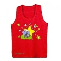 Hello B&B Color Sleeveless T-shirt (No.1)