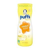 Gerber Graduates Puffs banana cereal snack