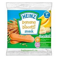 Bánh ăn dặm Heinz vị chuối 7M 60g