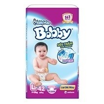 Bobby Fresh Tape Ultra-Thin Diaper L42