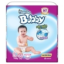 Bobby Fresh Tape Ultra-Thin Diaper L68