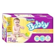Bobby Fresh Tape Ultra-Thin Diaper XL40