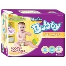 Bobby Fresh Tape Ultra-Thin Diaper XXL56