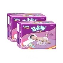 Bobby Fresh Tape Super Absorbent Diaper M50