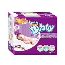 Bobby Fresh Tape Super Absorbent Diaper XXL54