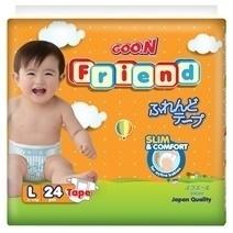 Bỉm Goon Friend dán L24