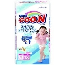 Goon Japan Version Pant Diaper XL38 (Girl)