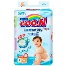 Goon Slim Tape Diaper L56