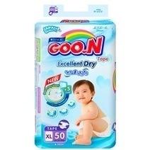 Bỉm Goon Slim dán XL50