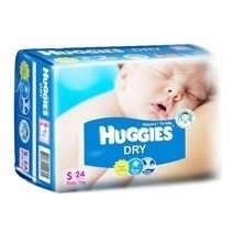 Huggies Tape Diaper S24