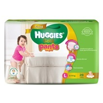 Huggies Gold Pants Diaper L28 (Gift)