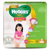 Huggies Gold Pant Diaper XXL20 (Girl)
