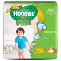 Huggies Gold Pant Diaper XXL20 (Boy)