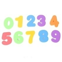 Asta 10 Foam Numbers Set