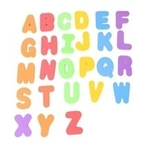 Asta 24 Foam Letters Set
