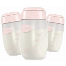 Unimom Breastmilk Storage Bottles 3-pack