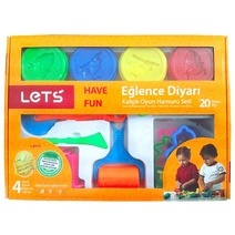 LET'S fun modeling clay set