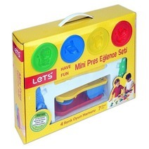 LET'S mini press fun clay set
