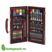 Bộ màu vẽ đa năng hộp gỗ Colormate M55