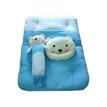 Teddy Pillow, Bolster And Mattress Set