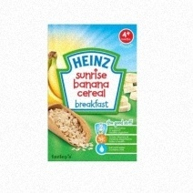 Heinz Sunrise Banana Cereal Breakfast 125g