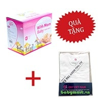With Mom Baby washing powder 0.9kg