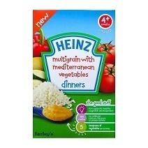 Bột Heinz mặn - Ngũ cốc và rau củ
