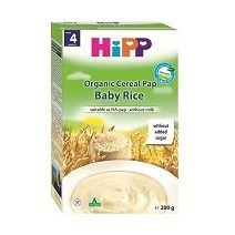 Hipp Organic Cereal Pap Baby Rice 200g