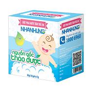 Bột pha nước tắm cho trẻ em hộp (30 gói)