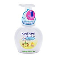 Kirei Kirei anti bacterial foaming hand soap natural citrus 250ml