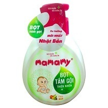 Mamamy Natural Bath Foam 400ml - Fancy