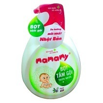 Mamamy Natural Bath Foam 400ml - Floral