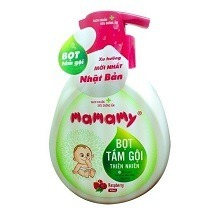 Mamamy Natural Bath Foam 400ml - Raspberry