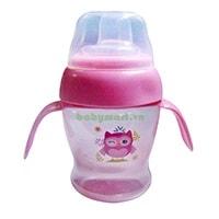 Cốc tập uống tay cầm Ami 55402, hồng